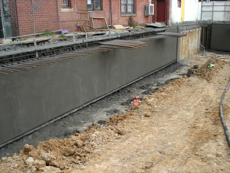 Basement construction for Basement foundation construction