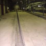 Insitu drainage trench